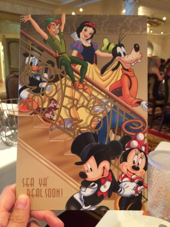 Moving your Dining time on Disney Cruise Line